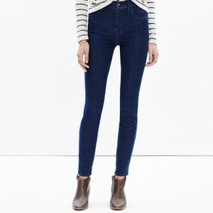 """Madewell 10"""" High-Rise Skinny Jeans in Lydia Wash"""